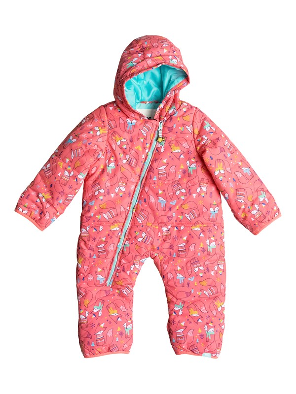 0 Rose - Snow Suit for Baby Girls  ERETS03002 Roxy