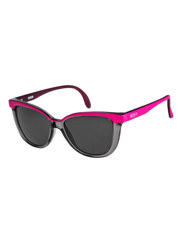 0 Coco - Sunglasses for Girls 8-16 Gray ERG6016 Roxy