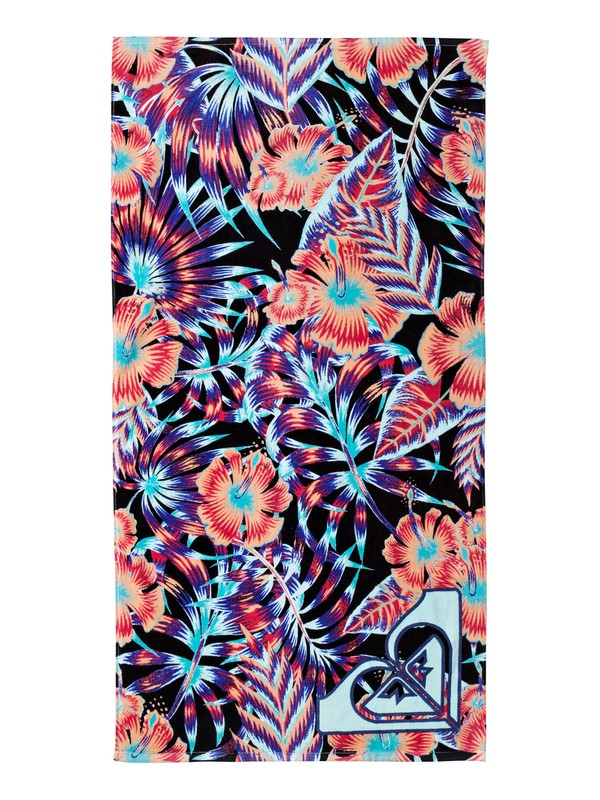0 Pretty Simple - Beach Towel Black ERGAA03039 Roxy