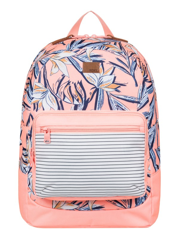 0 Girls 7-14 Happy At Home 23 L Medium Backpack  ERGBP03030 Roxy