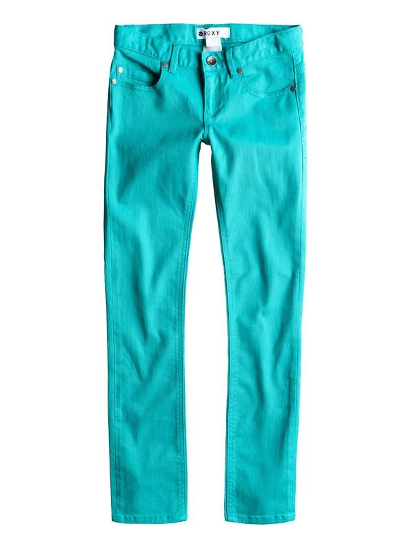 0 Girls 7-14 Tawana Skinny Jeans  ERGDP00007 Roxy
