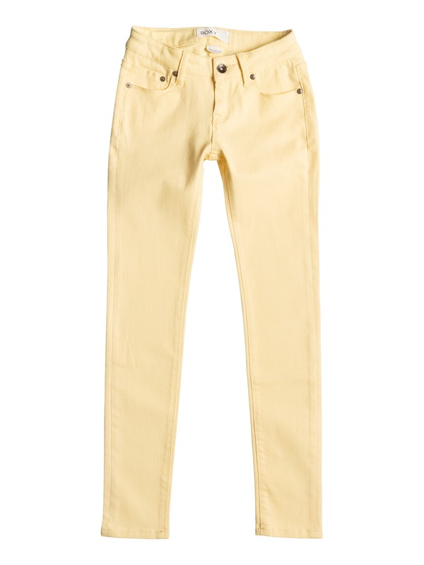0 Desert Jean - Jean slim Jaune ERGDP03022 Roxy