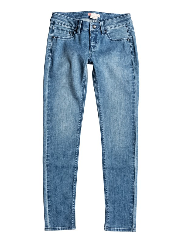 0 High And Wild - Jean coupe slim Bleu ERGDP03027 Roxy