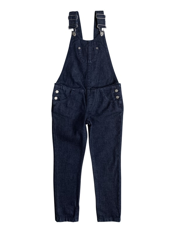 0 Girls 7-14 Random Ideas Slim Fit Overalls  ERGDP03038 Roxy