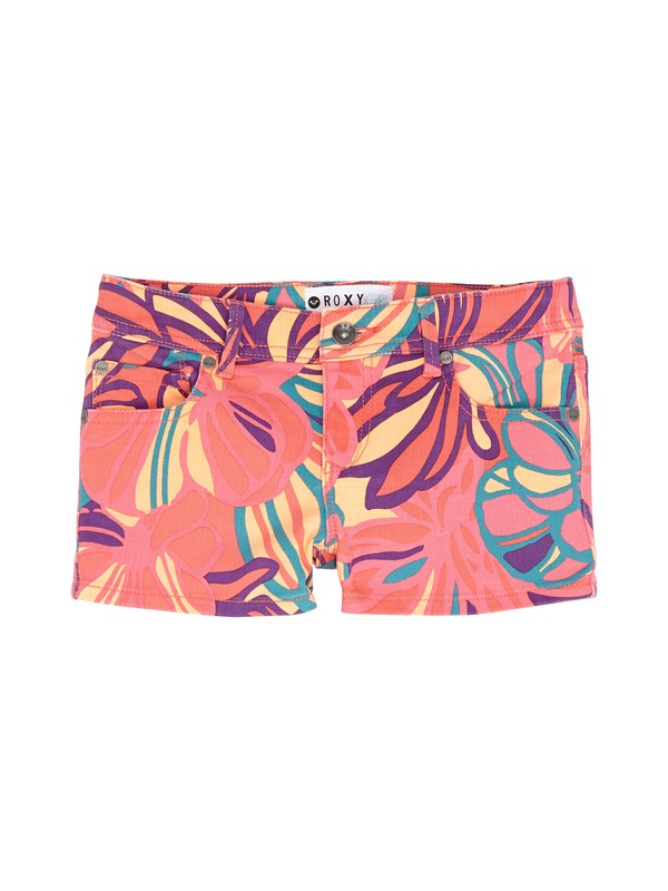 0 Girls 7-14 RG Lisy Print Shorts  ERGDS00010 Roxy