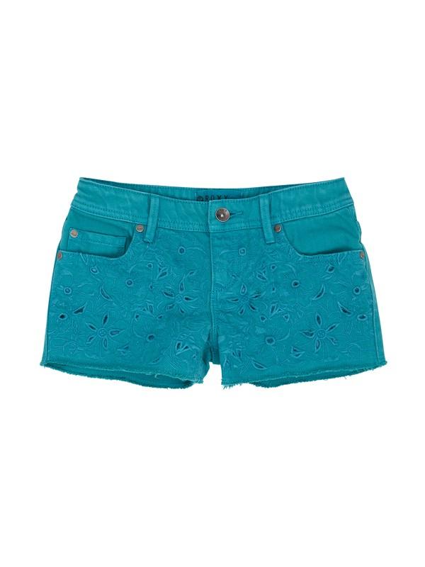 0 Girls 7-14 RG Lisy Eyelet Shorts  ERGDS00013 Roxy