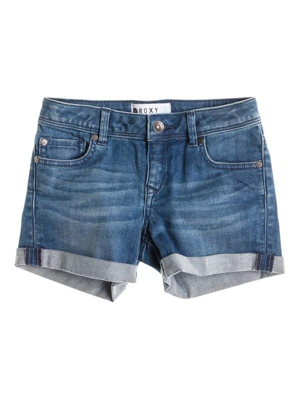 0 Girls 7-14 Selah Bright Blue Short  ERGDS03000 Roxy