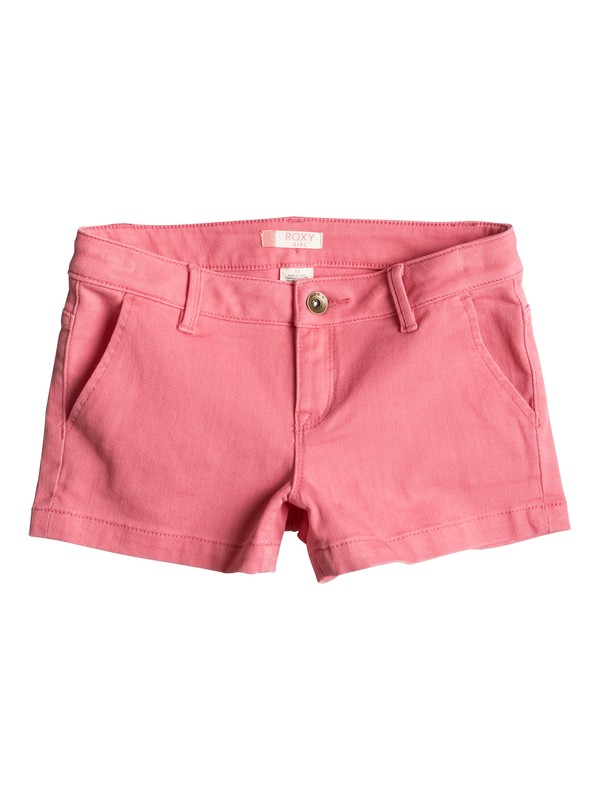 0 Girls 7-14 Sunset Clouds Denim Shorts  ERGDS03024 Roxy