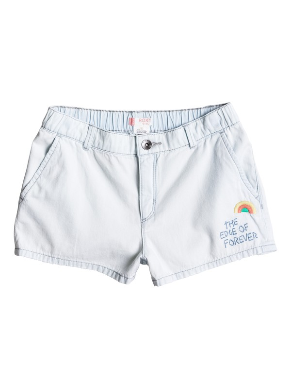 0 Girls 7-14 West Coast And U Denim Shorts  ERGDS03026 Roxy