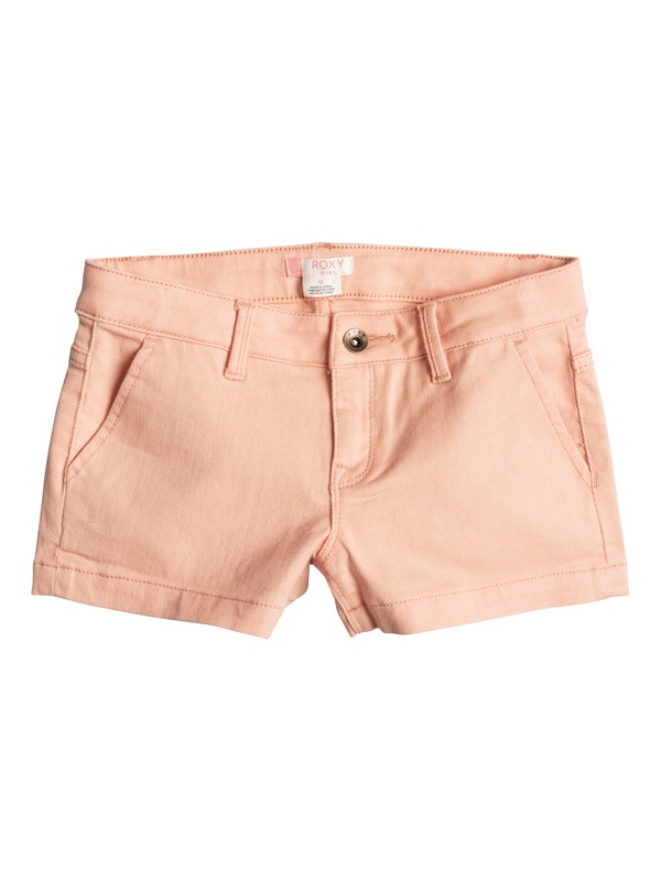 0 Girls 7-14 Ur True Dreams Twill Shorts  ERGDS03028 Roxy