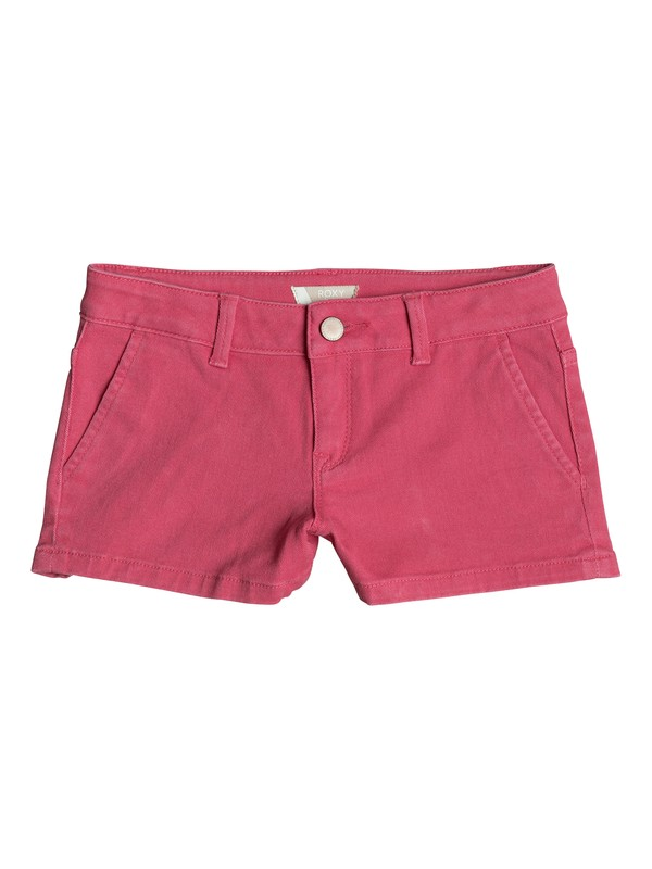 0 Girls 7-14 Sunset Clouds Denim Shorts Pink ERGDS03034 Roxy