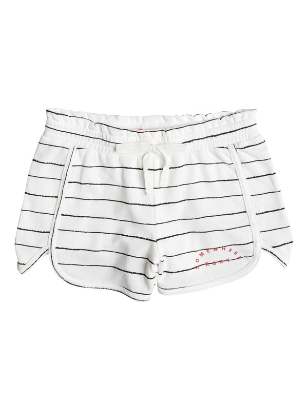 0 Girl's 7-14 Call Me Joy Jersey Shorts  ERGFB03053 Roxy