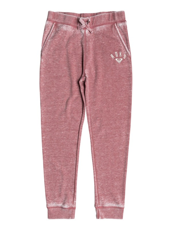 0 Girls 7-14 Inside My Head Hola Beachachas Fleece Joggers  ERGFB03059 Roxy