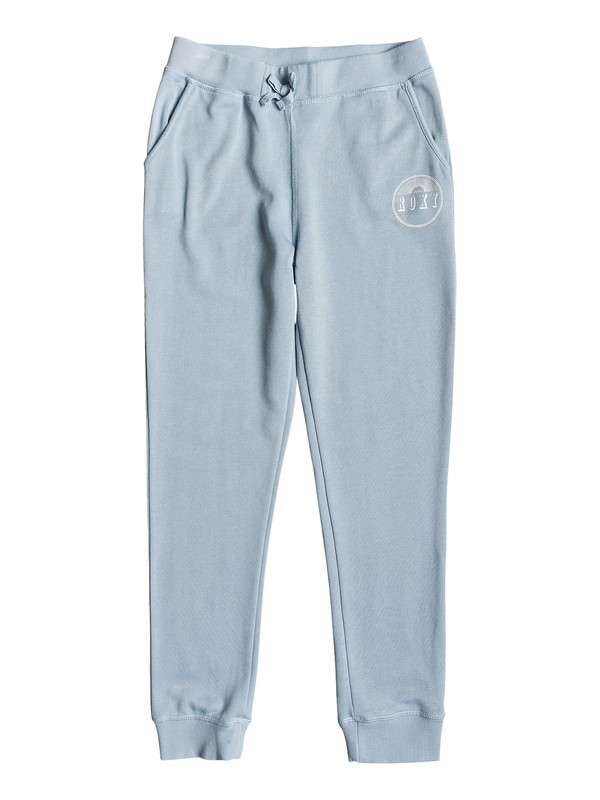 0 Girl's 7-14 Energy Of Sun Circle Spirit Joggers Blue ERGFB03092 Roxy