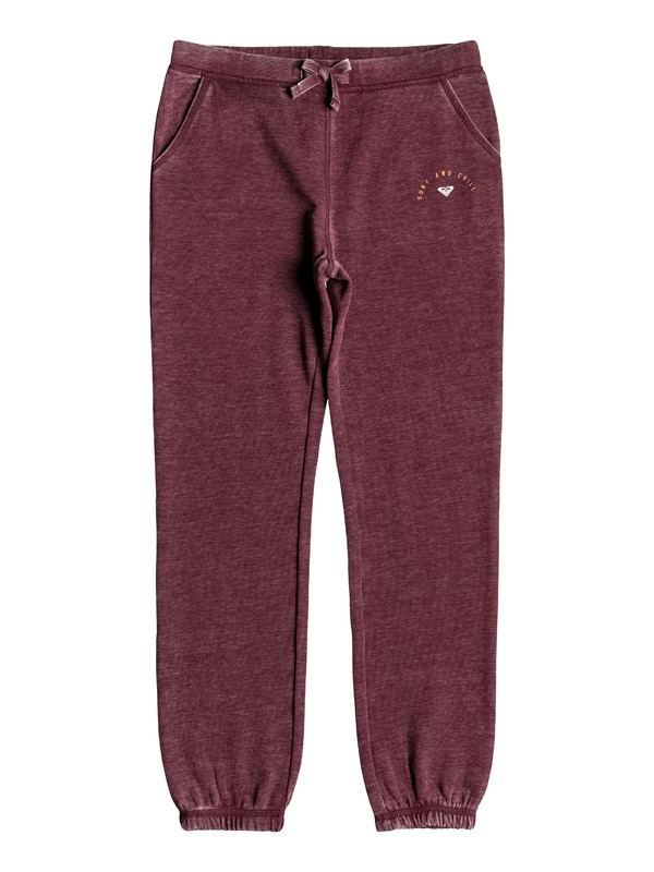 0 Girl's 7-14 Boom Boom Pow Surf And Chill Joggers Red ERGFB03100 Roxy