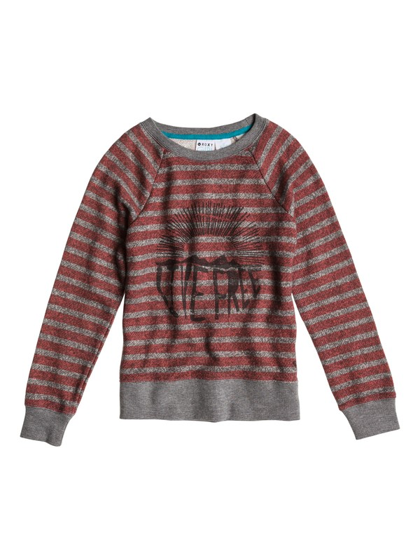 0 Girls 7-14 Believe Printed A Sweater  ERGFT03001 Roxy