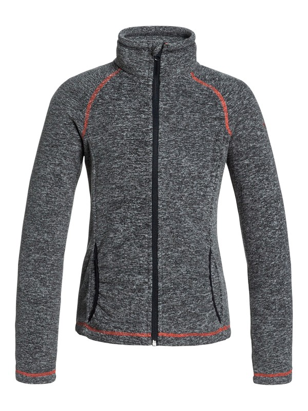 0 Girl's 7-14 Harmony Zip-Up Fleece  ERGFT03083 Roxy