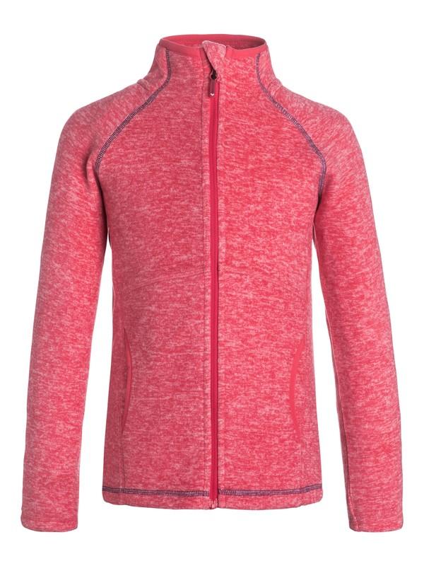 0 Harmony - Zip-Up Technical Fleece Pink ERGFT03141 Roxy