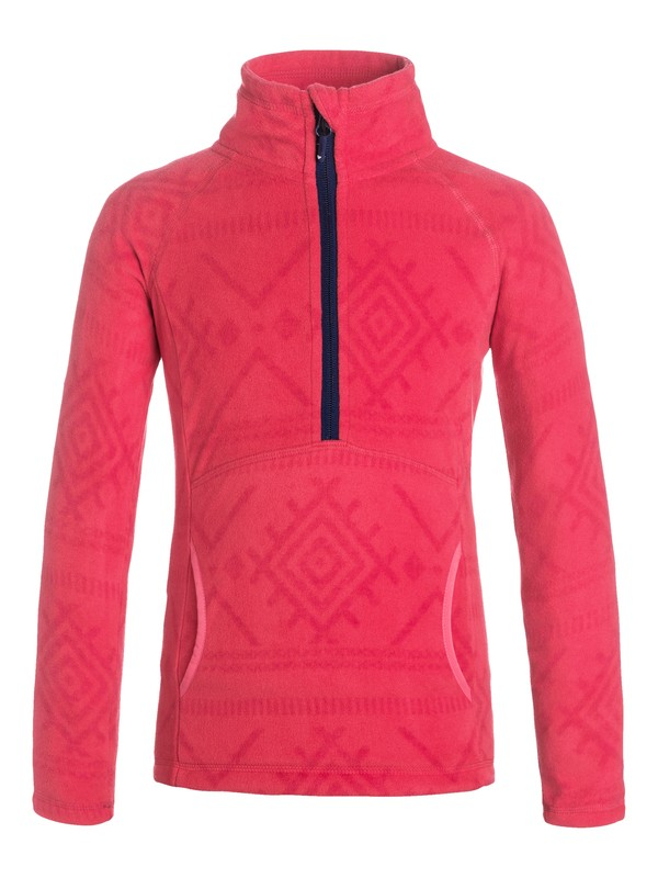 0 Girls 7-14 Cascade Pullover Fleece  ERGFT03142 Roxy