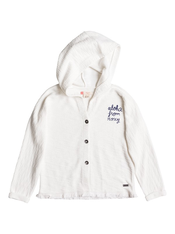 0 Grizzly Girly - Button-Up Hoodie  ERGFT03191 Roxy