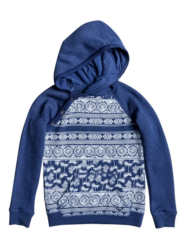 0 Girls 7-14 Close To You Tropical Wax Pullover Hoodie  ERGFT03200 Roxy