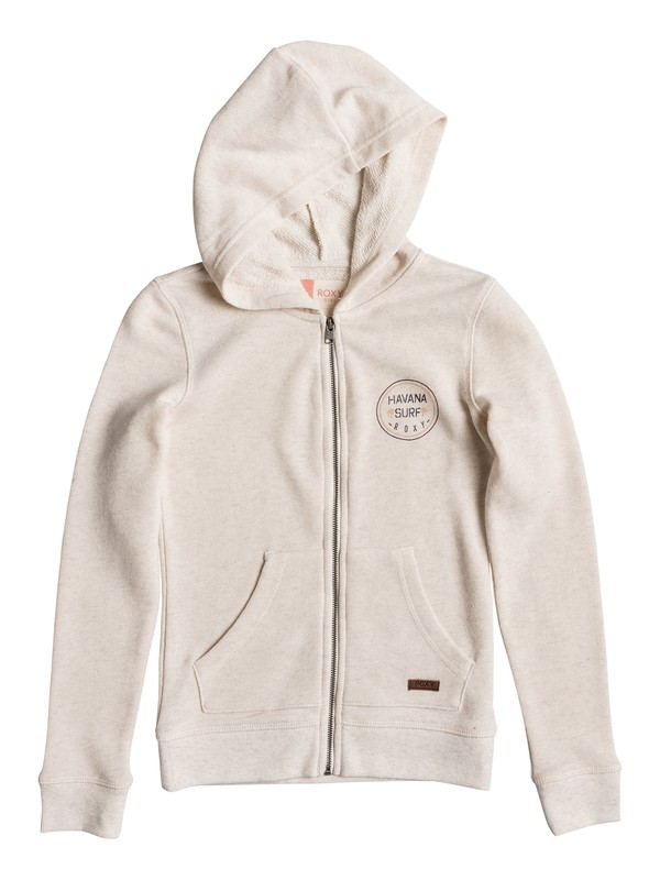 0 Girls 7-14 Close To See U Zip Up Hoodie  ERGFT03206 Roxy