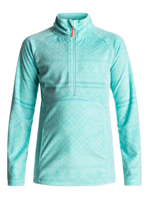 0 Cascade - Half-Zip Polar Fleece for Girls 8-16  ERGFT03210 Roxy