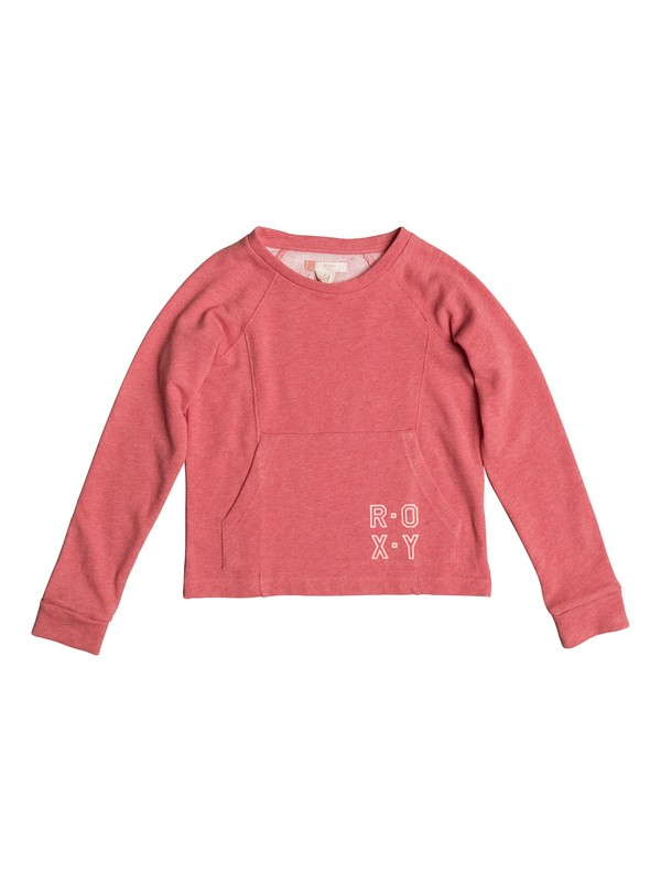 0 Girls 7-14 Neptune Tales Pocket Sweatshirt  ERGFT03215 Roxy