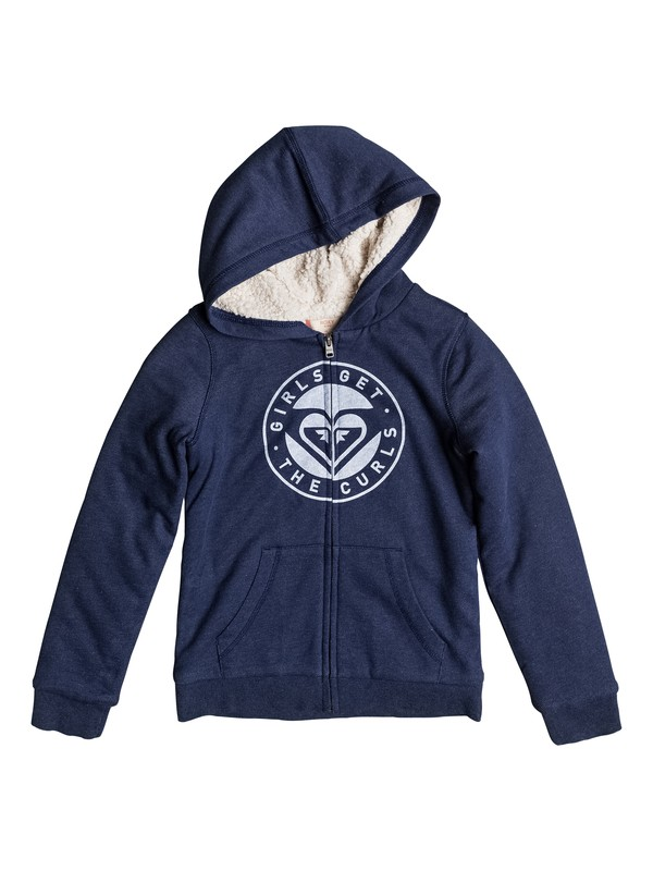 0 Memorize Density - Zip-Up Hoodie Blue ERGFT03220 Roxy