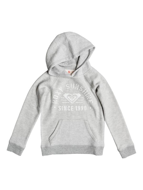 0 Diffuse Light - Pouch Pocket Sweatshirt for Girls 8-16  ERGFT03222 Roxy