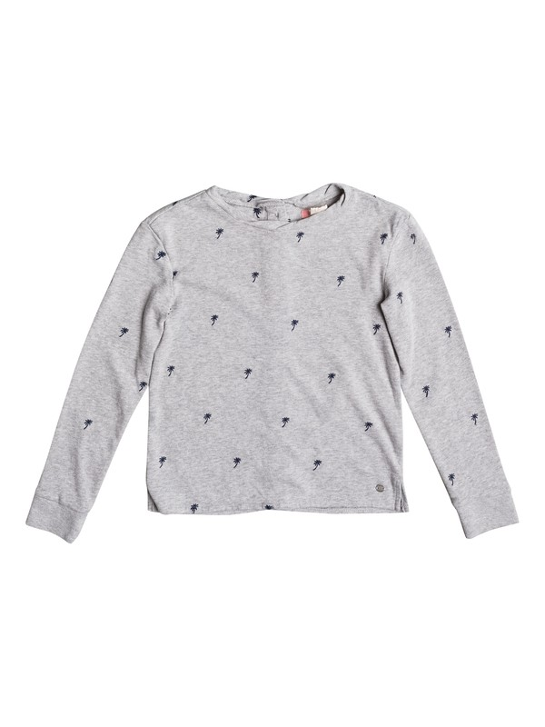 0 Sky Survey Palmito - Button Back Sweatshirt for Girls 8-16  ERGFT03228 Roxy
