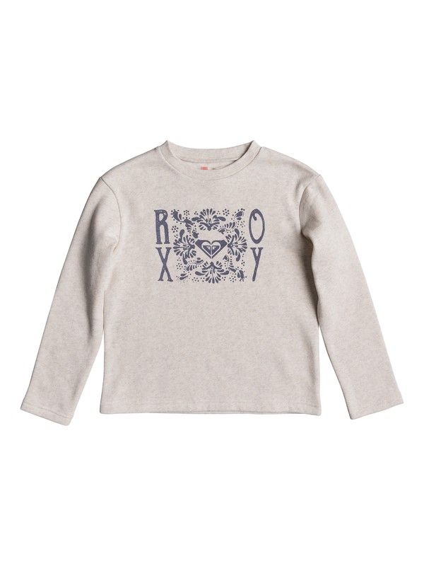 0 Girl's 7-14 Any Other Way Sweatshirt  ERGFT03235 Roxy