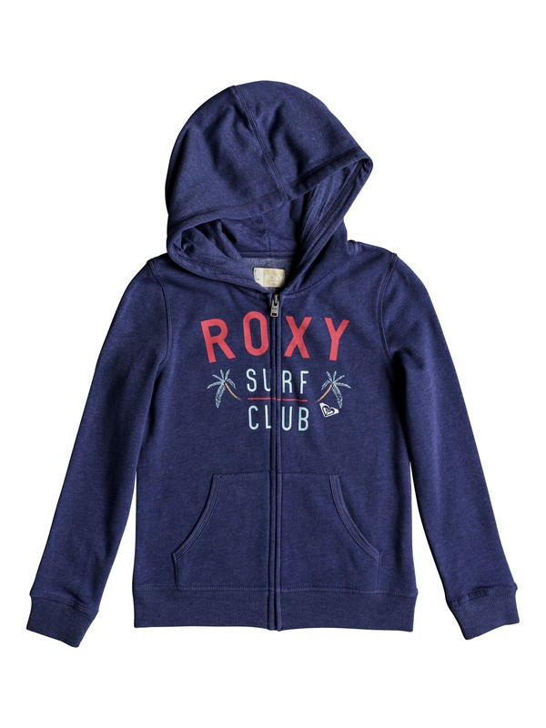 0 The Endless Round - Zip-Up Hoodie for Girls 8-16  ERGFT03247 Roxy