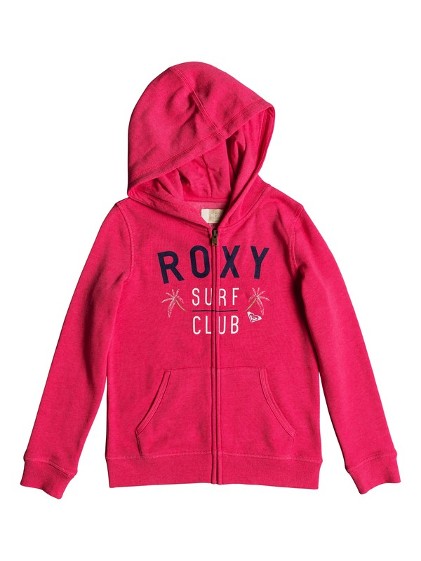 0 The Endless Round - Zip-Up Hoodie for Girls 8-16 Pink ERGFT03247 Roxy