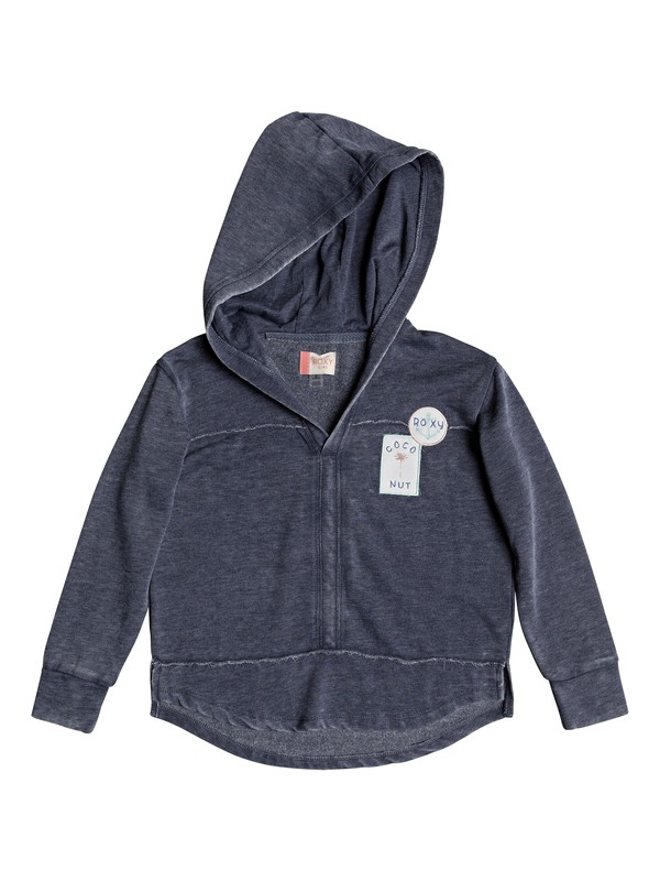 0 Girls 7-14 Wanting More Zip Up Sweatshirt  ERGFT03250 Roxy