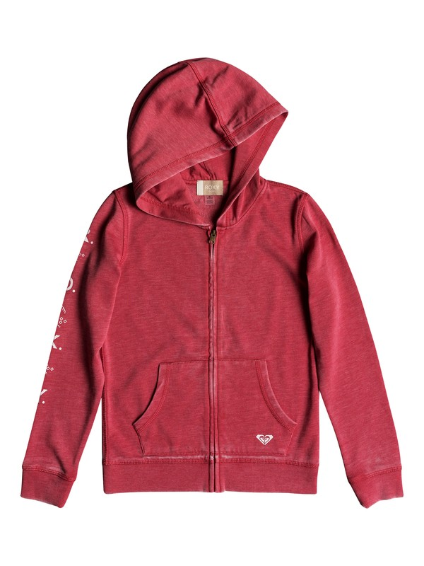 0 Girl's 7-14 Dance Forever A Zip-Up Hoodie Pink ERGFT03276 Roxy
