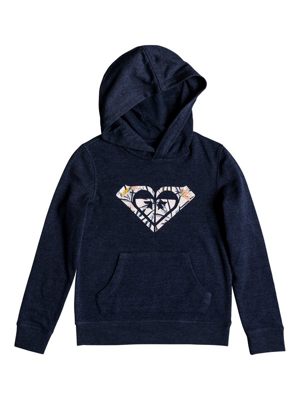 0 Across The Sea - Sudadera con capucha para Chicas 8-16 Azul ERGFT03284 Roxy