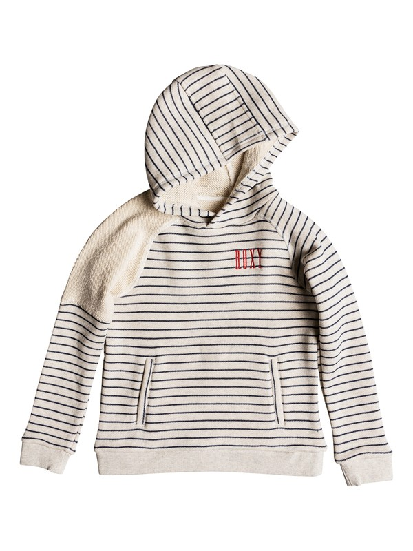 0 Spark In You - Sudadera con capucha para Chicas 8-16 Beige ERGFT03290 Roxy