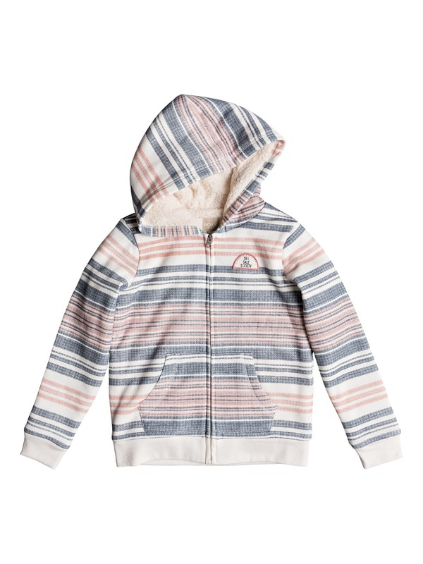 0 Girl's 7-14 Jingle Hop Zip-Up Hoodie Pink ERGFT03322 Roxy
