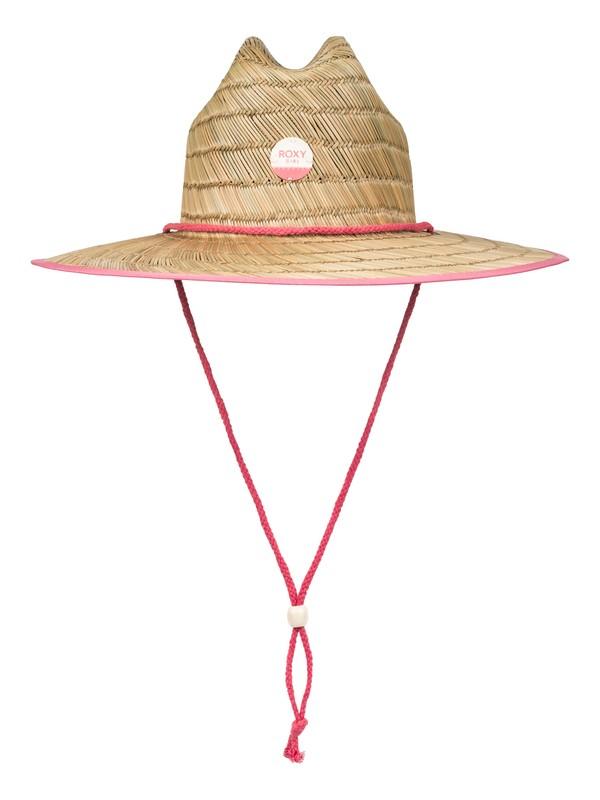 0 Girls 7-14 Tomboy Straw Hat  ERGHA03036 Roxy