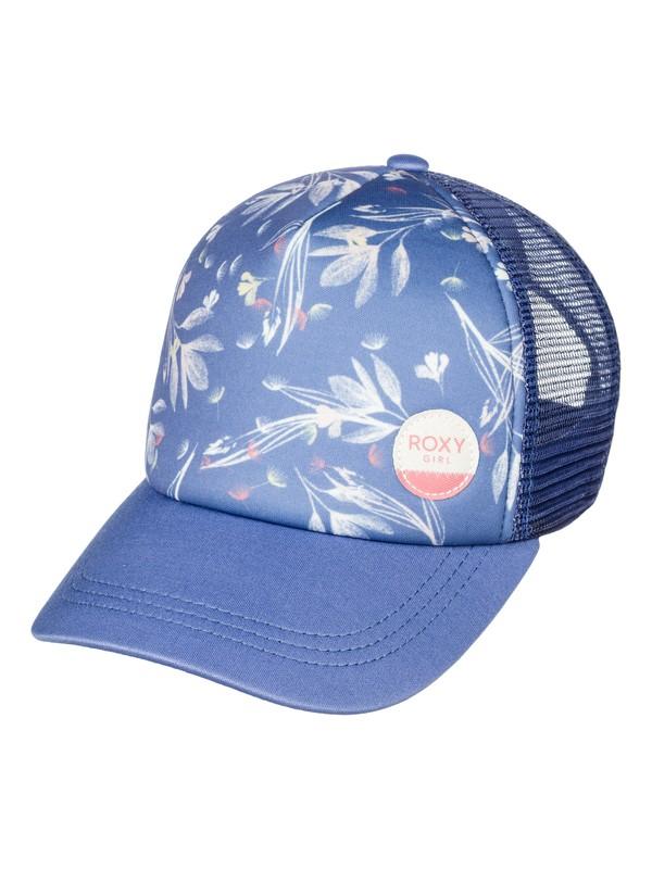 0 Girls 7-14 Just Ok Trucker Hat  ERGHA03039 Roxy