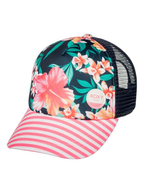 0 Girl's 7-14 Just OK Trucker Hat  ERGHA03045 Roxy