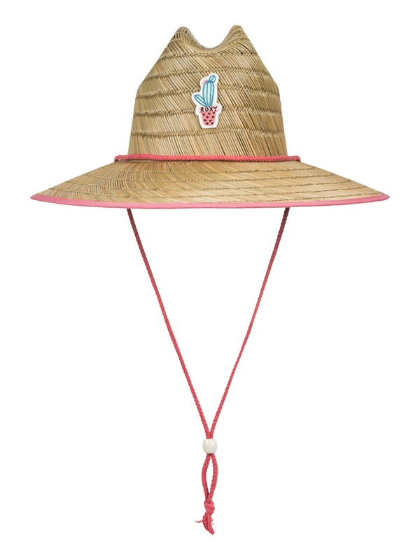 0 Girls 7-14 Tomboy Straw Hat Pink ERGHA03112 Roxy