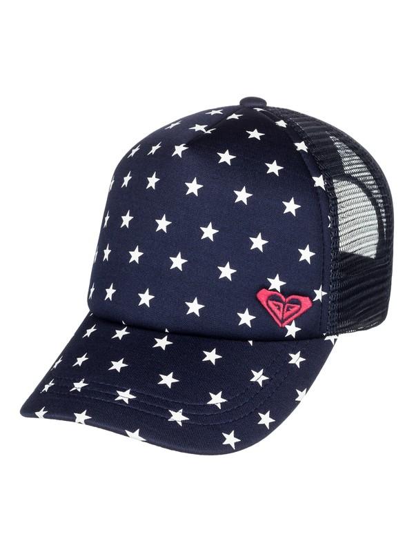 0 Girls 7-14 Just Ok Trucker Hat Blue ERGHA03113 Roxy