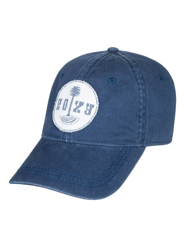0 Girl's 7-14 Dear Believer Baseball Cap Blue ERGHA03114 Roxy