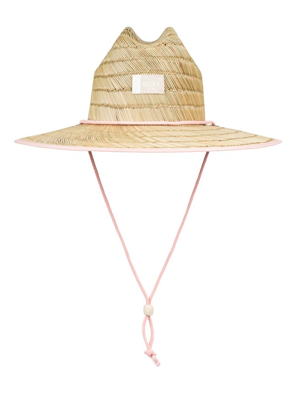 0 Girls 7-14 Tomboy Straw Sun Hat Pink ERGHA03115 Roxy