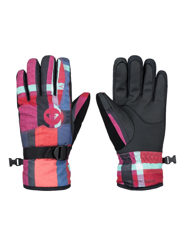0 Girl's 7-14 Jetty Snowboard Gloves  ERGHN03001 Roxy