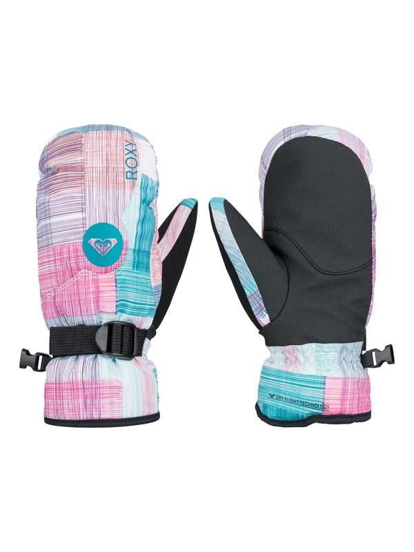 0 Girl's 7-14 Jetty Snowboard Mittens  ERGHN03004 Roxy