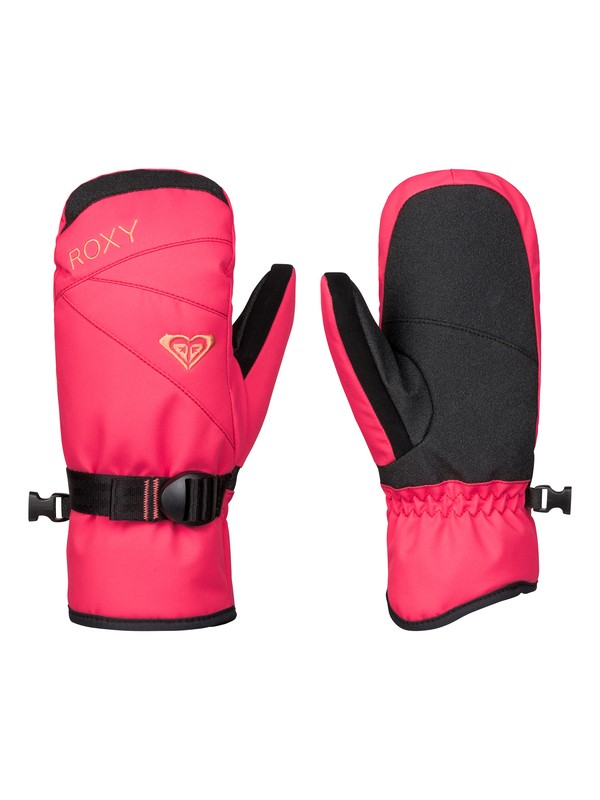 0 ROXY Jetty Solid - Snow Mittens  ERGHN03006 Roxy