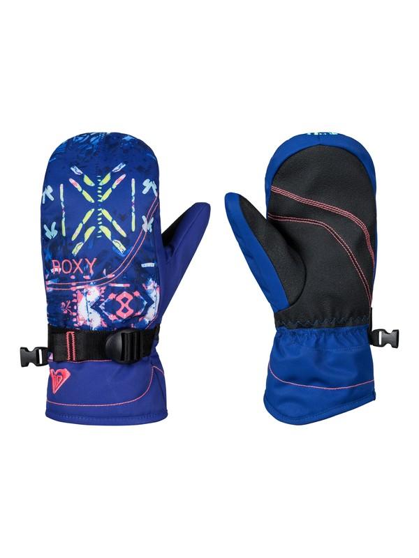 0 ROXY Jetty - Snowboard / Skihandschuhe Blau ERGHN03013 Roxy